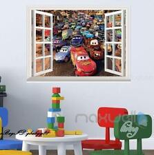 Disney Car McQueen Mater 3D Window Vinyl Wall decor Stickers Art Print Kids Gift