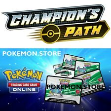 50 códigos de la ruta Champion Pokémon TCG en línea Booster ptcgo por correo electrónico/dentro del juego rápido!