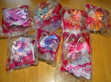 My Little Pony-Mcdonalds Happy Meal-Lot Of 7 New In Package-2014-2015-2016