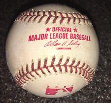 Albert Pujols St. Louis Cardinals Game Used 1st HR Baseball 4/6/01 MLB HOLO