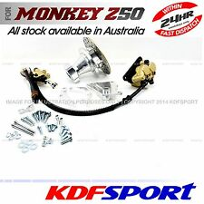 "KDF REAR BRAKE DISC 10"" WHEEL ALLOY HUB 10 INCH RIM BACK FOR HONDA MONKEY Z50"
