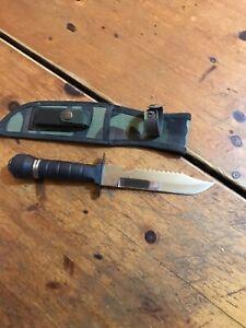 Couteau De Survie Neuf