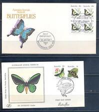 AUSTRALIA 1983, Butterflies, 2FDC (2)