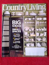 Country Living Magazine September 2012  Small Spaces Storage Makeovers