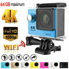 Full HD Action Wifi Camera Sport Camcorder DVR Helmet Remote Go Pro Waterproof
