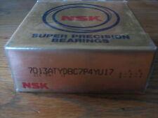 1 Pair 7013ATYDBC7P4Y U17. NSK  Super Precision Bearings