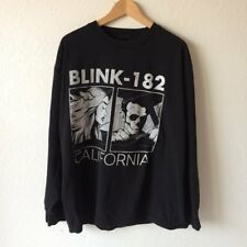 Blink 182 Bored To Death Tour 2016 Two Sided Print Men's Long Sleeve T-Shirt