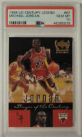 Michael Jordan 1999 Upper Deck Century Legends #87 PSA 10