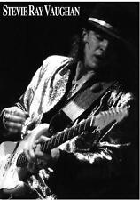 "Stevie Ray Vaughan POSTER ""Live Alive"""