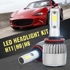 LED Headlight Kit High H11 H9 H8 6500K CREE for 2006-2015 Mazda MX-5 MIATA