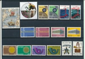 D199097 Iceland Nice selection of MNH stamps