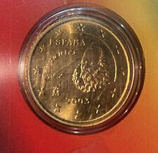 Spain 🇪🇸 Coin 50c Euro Cents 2003 BUNC From Set King Juan Carlos