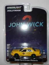 Greenlight 44790-F John Wick 2008 Ford Crown Victoria NYC Taxi 1:64 Scale CHASE