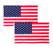 2-Pack 3x5 American Flags w/ Grommets ~ Usa United States of America ~ Us Stars