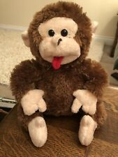 B&M Brown Giggling Monkey Battery Operated