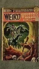 Vintage Weird Western Tales Comic, Sgt Rock, Iron Man Comics