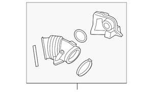 Genuine GM Outlet Duct 13267441