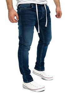 Yazubi Herren Sweatpants Slim Fit Jogginghose im Jeans-look Steve