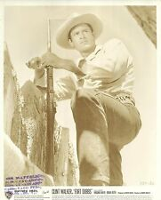 "CLINT WALKER in ""Fort Dobbs"" Original Vintage Photo PORTRAIT 1958"