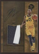 2017-18 Panini Opulence Donovan Mitchell 2 Color Patch Silver RC Auto /25