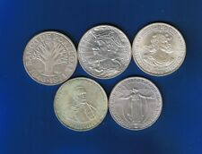 PORTUGAL - Complete Set 5 COINS - 50 Escudos 1968/1972 SILVER  - CHECK IMAGES
