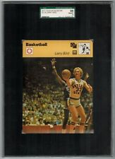 SGC 8 LARRY BIRD Sportscaster Basketball #74-18 High Number ROOKIE CARD