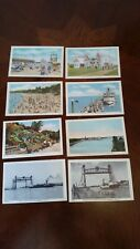 Lot 8 Vintage Ontario Canada Tourist Post Cards / Unposted