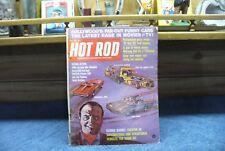 hot rod magazine june 1966 feturing  george barris  #7319