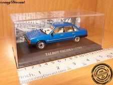 TALBOT TAGORA BLUE 1981 1:43 MINT WITH BOX-ART!!!