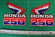 85' 1985 CR250R dirtbike 2pc Vintage shroud graphics decals stickers HRC, MX