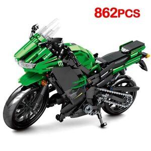 Car Building Motorcycle City Model Blocks Toys Model Technic Bricks Educational