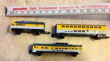 Micro Machines Gloob Lines Train Set - Vintage 1989 Galoob. FREE UK POSTAGE
