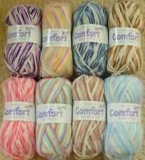 King Cole 8 Ply Baby Craft Yarns