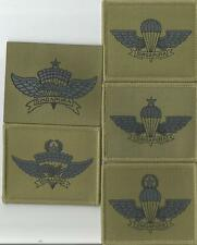 SINGAPORE ARMY AIRBORNE  PATCH SET - RARE SPECIAL FORCES PARA