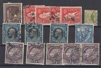 Cyprus KGV Collection Of 15 VFU JK3383