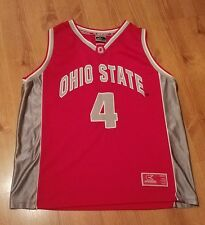 Ohio State Buckeyes #4 Basketball Jersey Sewn Youth XL Colosseum Athletics NCAA