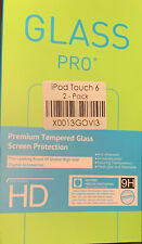 Glass Pro+ iPod touch 6 Tempered Screen Protectors 2 Pack