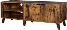 Fernsehtisch TV-Schrank Lowboard mit 2 Türen TV-Regal Fernsehschrank bis 60 Zoll