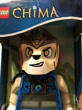 LEGO Kids 9000560 Legends of Chima Laval Mini-Figure Alarm Clock New