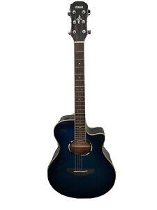 Yamaha APX500 111 Electro-Acoustic Guitar Beautiful Blue ! Hardly Used