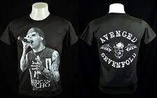 Dark T-Shirt M. Shadows vocal AV7 Indy Punk Rock Crew 100% Cotton Tee Size M
