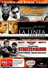 The Code / La Linea / Streets Of Blood - Action / Thriller - NEW DVD