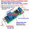 Timer Relay Switch DC 6V 12V 24V Signal Trigger Timing Delay Turn Off Module Car