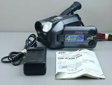JVC Videomovie GR-AXM750U VHS-C Camcorder w/ Battery & Charger, Tested, Works