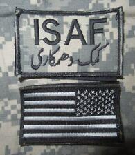 Konvolut - ACU - ISAF & USA Flagge - Klett