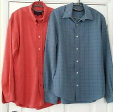 2 SHIRTS JEFF BANKS & COOPER SIZE SMALL