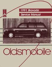 2003 Chevrolet Chevy Trailblazer EXT Envoy Oldsmobile Bravada Service Manual Set