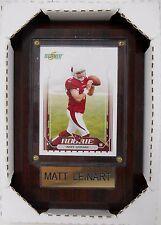 NFC Cardinals Matt Leinart 4½ x 6½ wood plaque 2006 sealed brand new