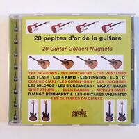 20 GOLDEN GUITAR NUGGETS ♦ New REMASTERED French CD ♦ THE SPOTNICKS, SHADOWS..