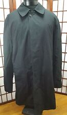 UNIFORM ANCHOR  3M THINSULATE ISOLANT BLACK PEA COAT JACKET TEFLON SZ LRG